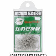 川せみ針 狐形 100本入 J−1 7号 白【ゆうパケット】