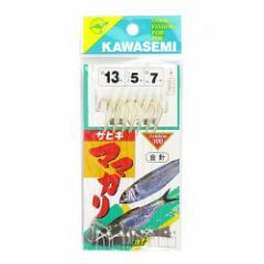 川せみ針 ママカリサビキ(金針) G−1 針13号−ハリス5号【ゆうパケット】