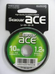 クレハ合繊 シーガーエース 10M 単品 1.2号【ゆうパケット】
