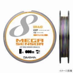 ダイワ UVFメガセンサー 8ブレイド+Si 300mパック 4号 パープル/グリーン/ピンク/イエロー/スカイブルー