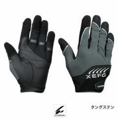 シマノ XEFO・ロックトラバースグローブ GL-249R M タングステン【ゆうパケット】