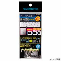 シマノ カワハギ仕掛け 楽々セット 吸わせ RG-KD1Q 針7.5号【ゆうパケット】