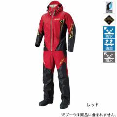 シマノ NEXUS GORE-TEX レインスーツ EX RA-119R XL レッド