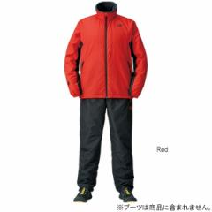 ダイワ ウォームアップスーツ DI-52008 M Red