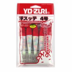 デュエル 浮スッテカンKT布巻 5本入り 4.0号 TY2 L1(赤/白)【duel1505】【ゆうパケット】