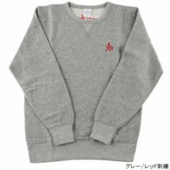 ヤマガブランクス YB オリジナル刺繍スウェット L グレー/レッド刺繍