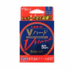 サンライン トルネード Vハード 50m 5号 ナチュラルクリア【ゆうパケット】