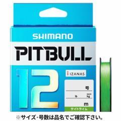 シマノ ピットブル12 PLM62R 200m 1.0号 サイトライム【ゆうパケット】