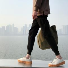 メンズ パンツ ボトムス スウェットパンツ 細身 ブラック 流行り ズボン おしゃれ おすすめ カジュアル 着こなし