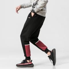 メンズファッション パンツ・ボトムス スウェットパンツ スポーツ リラックス 裾リブ グレー ブラック