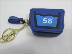 Shoku 7カラーコインケース「58゜」頑丈な新素材・箱入り「カラーブルー系」
