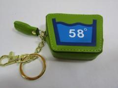 Shoku 7カラーコインケース「58゜」頑丈な新素材・箱入り「カラーグリーン系」