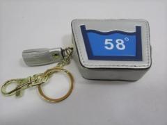 Shoku 7カラーコインケース「58゜」頑丈な新素材・箱入り「カラーシルバー系」