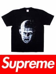 送料無料 メンズ Tシャツ ブラック Supreme シュプリーム HELLRAISER TEE SS18T8 ヘルレイザーコラボピンヘッドTシャツ