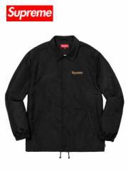 送料無料 メンズ コーチジャケット ブラック Supreme シュプリーム GONZ LOGO COACHES JACKET SS18J81 マークゴンザレスコーチジャケット