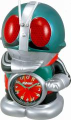 CITIZEN シチズン リズム時計工業 RHYTHM クロック 仮面ライダー 目覚まし キャラクター 時計 音声アラーム 4SE502RH05