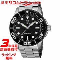 [店頭受取対応商品] [3年保証][グッチ]GUCCI 腕時計 グッチ YA126279 ダイバー ブラック メンズ [並行輸入品]
