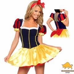 [即納]白雪姫 プリンセス ハロウィン 仮装 コスプレ 3点セット ディズニー キャラ しらゆき姫 小悪魔 制服 グループ コスチューム