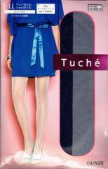 トゥシェ ソフトラメ ストッキング (M-Lサイズ・日本製・つま先切替なし) ラメタイツ レディース グンゼ GUNZE Tuche