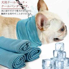 犬用 クールバンダナ クールスカーフ 犬 バンダナ クール スカーフ クールネック ひんやり 暑さ対策 クール 小型犬 中型犬