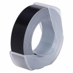 オリエント・エンタープライズ  マシューズテープ12ミリブラック ダイモ用テープ