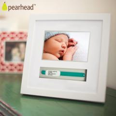 pearhead (ペアヘッド) ネームバンド・フレーム ホワイト NZPH86013 メモリアルグッズ フォトフレーム pea