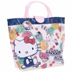 fe689b0ae3530 サンリオ ハローキティ ビーチバッグ バケットタイプ Hello Kitty 子供キッズ 幼稚園 保育園 小学校 サマー スイミング