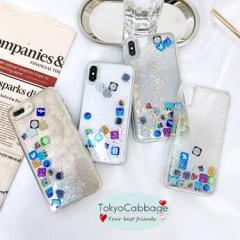 0bd14e2123 アイフォン 携帯ケース 動く 流れる 大人女子 iphoneアイコン iPhone8 スマホケース iPhone X ケース iphoneXS max