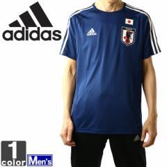 アディダス【adidas】 メンズJFA ホーム レプリカ Tシャツ DTQ75 1803 紳士 男性