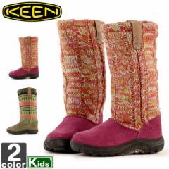 キーン【KEEN】キッズ ジュニア アーバン ブーツ 1006339 1006345 1806 ロングブーツ ニットブーツ