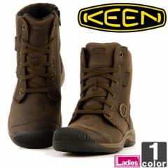 キーン【KEEN】レディース ブーツ レイセン ジップ ウォータープルーフ FG 1015148 1806 ショートブーツ サイド