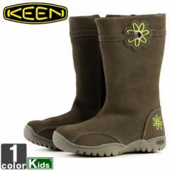 キーン【KEEN】キッズ ジュニア ルナ ブーツ 1009432 1807 ロングブーツ サイドジップ