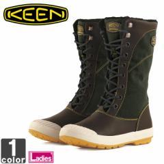 キーン【KEEN】レディース ブーツ エルサ トール キャンバス ウォータープルーフ 1015097 1807 ロング