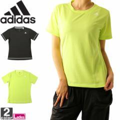 アディダス【adidas】レディース D2M トレーニング 定番 ロゴ ワンポイント 半袖 Tシャツ EUD14 1808 シャツ トップス