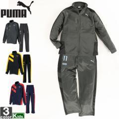 プーマ【PUMA】キッズ ジュニア トレーニング ジャージ 上下セット 591875 591876 1809 長袖 セットアップ