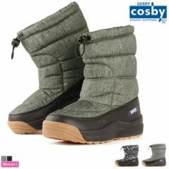 コスビー【cosby】レディース 耐水圧5000mm スパイク付 スノーブーツ CSSNB-23 1810 ブーツ 防水