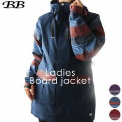 ビービー【BB】レディース スノーボードジャケット BB-8052 1811 アウター スノボ
