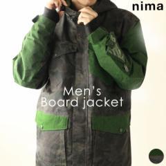 ニーマ【nima】メンズ スノーボードジャケット NB-1001 1811 スノボ アウター