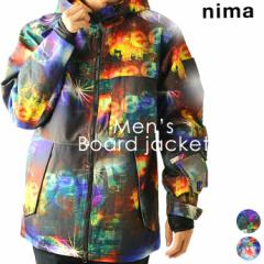 ニーマ【nima】メンズ スノーボードジャケット NB-2016 1811 スノボ アウター