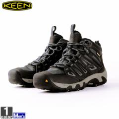 キーン【KEEN】メンズ トレッキングブーツ オークリッジ ミッド ウォータープルーフ 1015307 1812