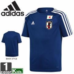 アディダス【adidas】 キッズ JFA ホーム レプリカ Tシャツ DTQ74 1803 ジュニア 子ども 子供
