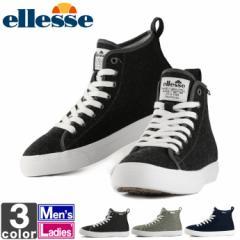 エレッセ 【ellesse】メンズ レディース ティレニア ウインター ミッド スニーカー V-CU619W 1805 靴 シューズ