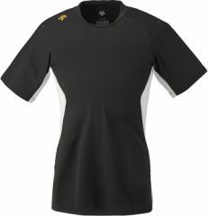 DESCENTE (デサント) ネイキッドシャツ(ベースボールTシャツ) DB117 BLK 1611