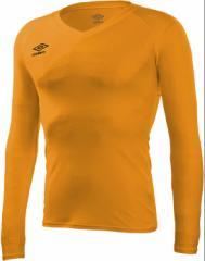 umbro (アンブロ) L/S パワーインナーVネックシャツ UAS9701L ORG 1702 メンズ 紳士 男性