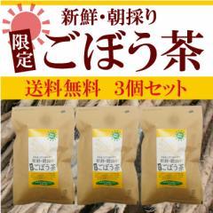 徳島県産朝採り『限定』ごぼう茶 3個セット 1.5g×30袋