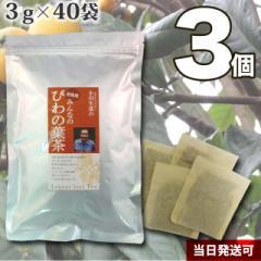 びわの葉茶(徳島産)3個セット 3g×40袋
