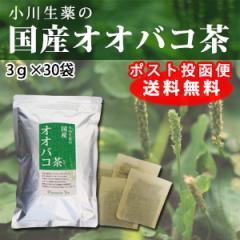 小川生薬の国産オオバコ茶 3g×30袋 DM便