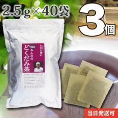 四国産みんなのどくだみ茶 3個セット 2.5g×40袋