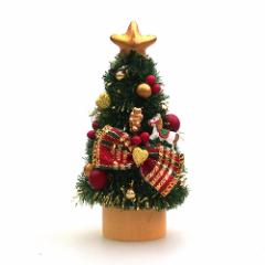 【クリスマス】JAC 東急ハンズ限定 クリスマスミニツリー HZ19‐1 レッド/ゴールド