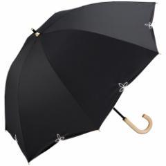 wpc 晴雨兼用 日傘 バードケイジワイドスカラップ  81−6569 ブラック